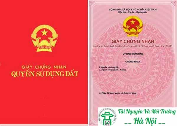 dịch vụ cấp sổ đỏ tại Hà Nội