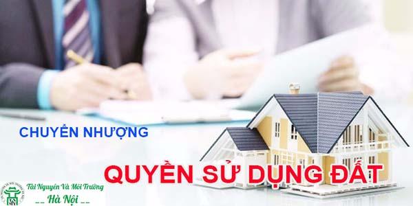Dịch vụ chuyển nhượng quyền sử dụng đất tại Hà Nội