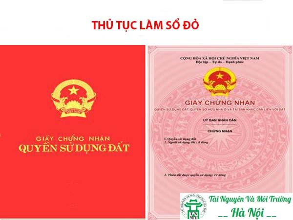 Dịch vụ làm sổ đỏ tại Hà Nội Uy Tín Nhất