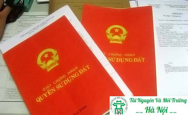 nơi làm sổ đỏ tại Hà Nội nhanh nhất