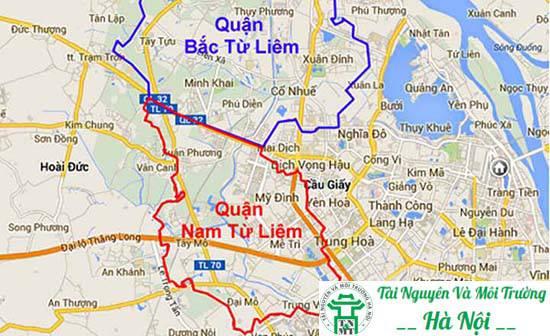 xin cấp phép xây dựng tại quận Nam Từ Liêm