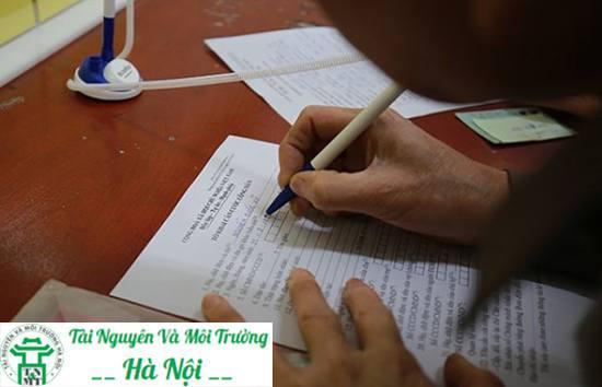 dịch vụ viết đơn kê khai uy tín chuyên nghiệp