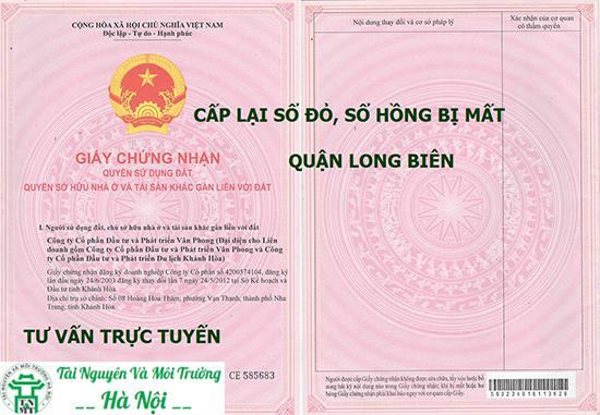 làm sổ đỏ quận Long Biên