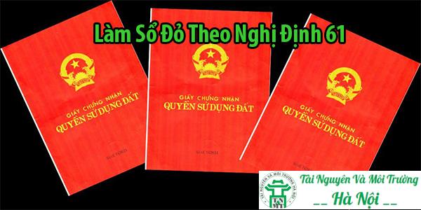 Làm Sổ Đỏ Theo Nghị Định 61 – 5 Bước Đơn Giản Bạn Cần Biết