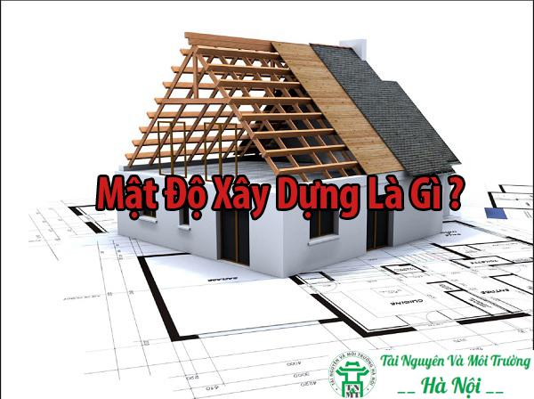 Mật độ xây dựng là gì ?