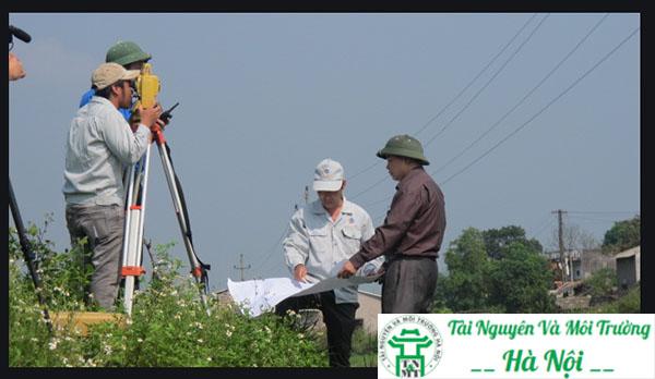 việc đo đạc lại đất