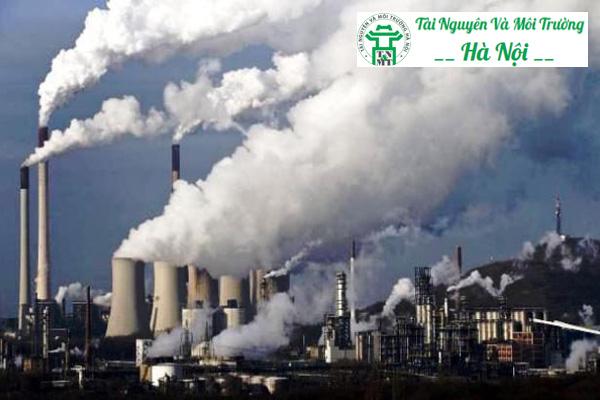 Nguyên nhân không khí bị nhiễm bẩn do các nhà máy xả thải