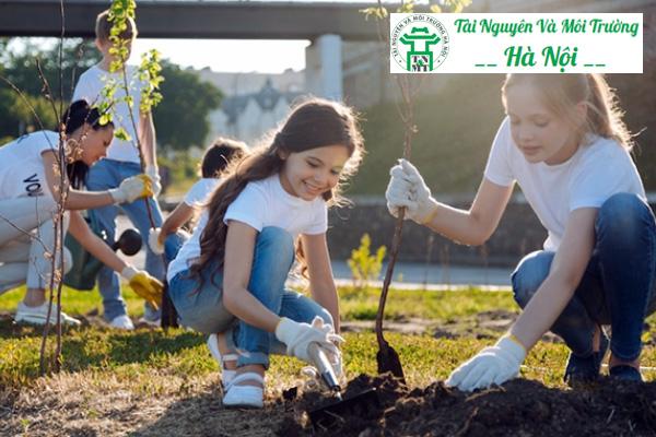 Trồng cây xanh lúc nào cũng là hành động thiết thực bảo vệ môi trường